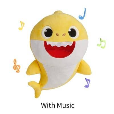 Plush Singing Baby Shark Toy