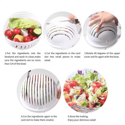 SALDIS™ - 60 Seconds Salad Maker